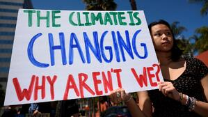 Fight climate change by not consuming so much