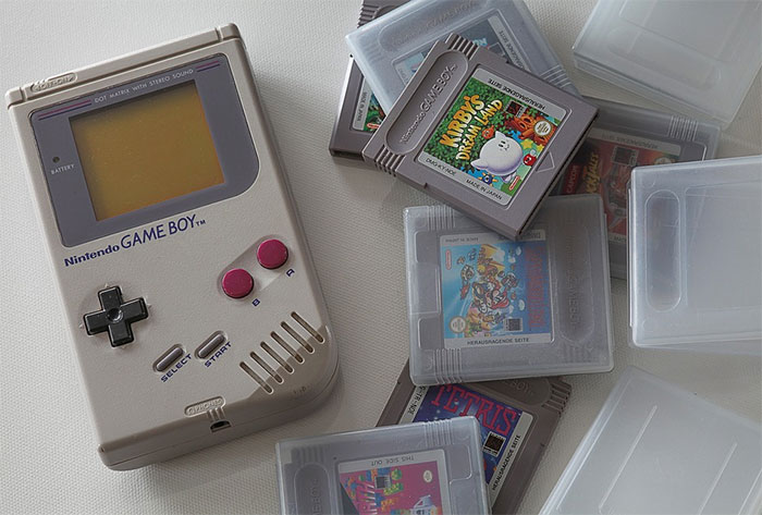 Game Boy sustainable design example
