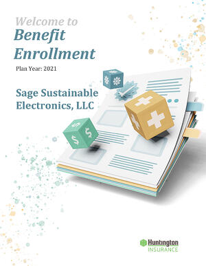 2021 New Hire Benefit Booklet_Sage Sustainable Electronics