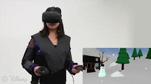 VR jacket lets players immerse themselves in the digital