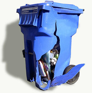 What now without recycling? How about sustaianability?